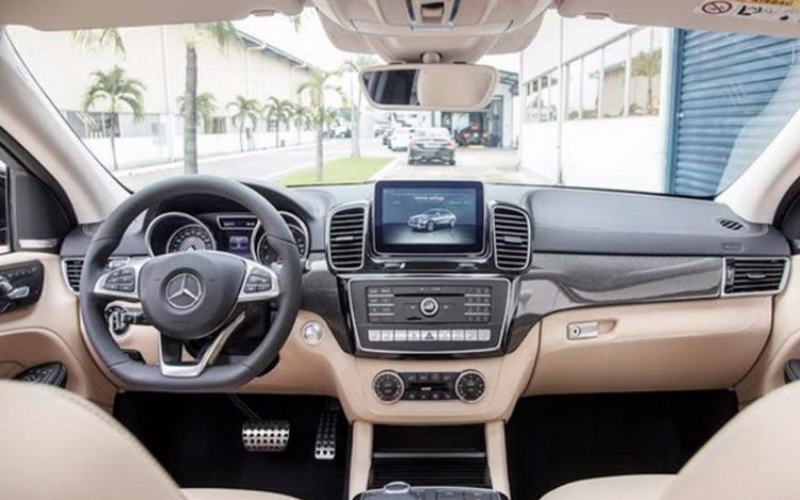 Mercedes GLE 400 4Matic Coupe nội thất