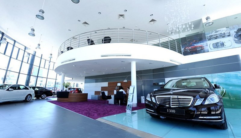 Showroom xe Mercedes-Benz An Du Đà Nẵng