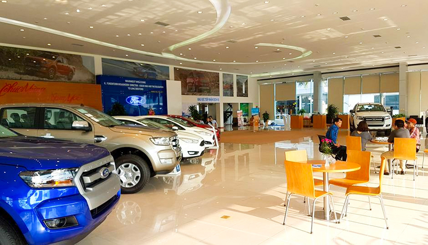 Showroom Long Biên Ford