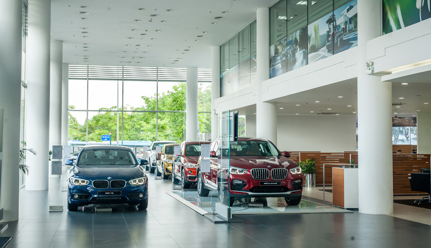 Showroom BMW Long Biên