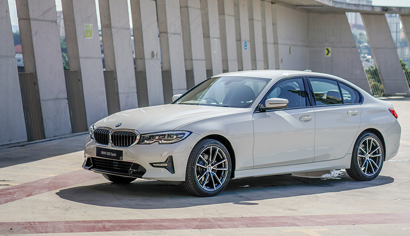 Thân xe BMW 320i All New
