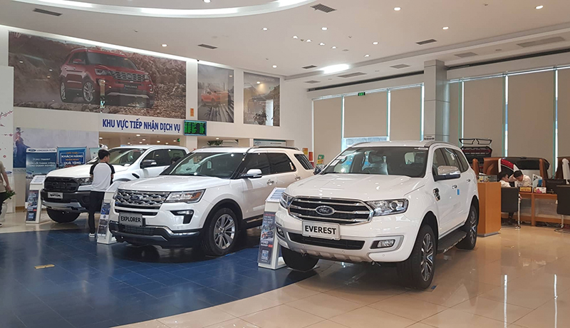 Xe Ford Quận 1