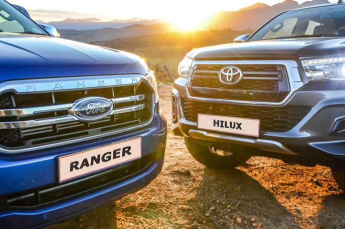 Chọn xe Ford Ranger hay Toyota Hilux?