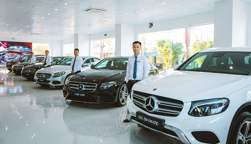 Showroom xe Mercedes-Benz Vinamotor Nghệ An